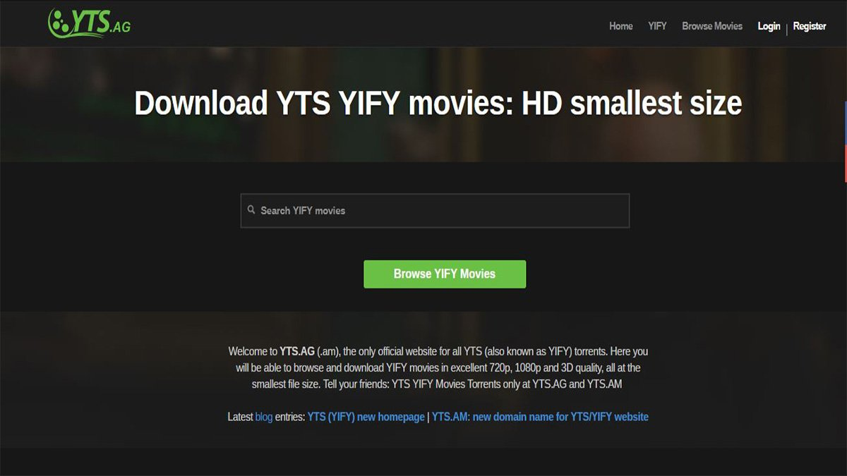 Yify movies 2020