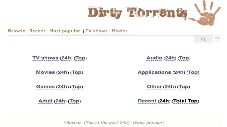 DirtyTorrents