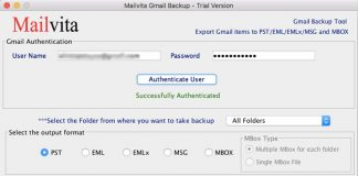 Backup your Gmail files